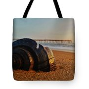 Conch Shell And Pier 6 12/5 Tote Bag