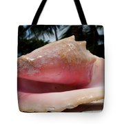 Island Conch Shell Tote Bag