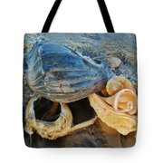 Conch Shells Hatteras 5 10/17 Tote Bag