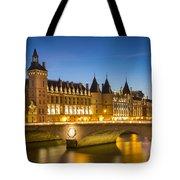 Conciergerie Twilight - River Seine Tote Bag