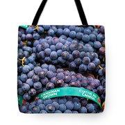Concord Grapes Tote Bag by Mary  Smyth