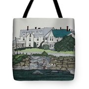 Concordville From Short Sands Tote Bag