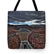 Concrete Canyon Tote Bag