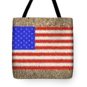 Concrete Flag Tote Bag