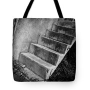 Concrete Steps Tote Bag