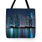 Condominium Buildings In Miami Tote Bag