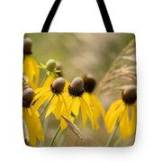 Cone Flower 8340 Tote Bag