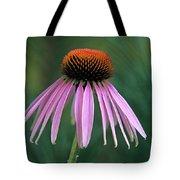 Cone Flower In Vertical Format Tote Bag