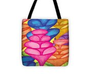 Cone Forest Tote Bag