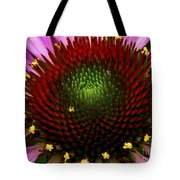 Coneflower - Little Yellow Spider Tote Bag