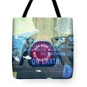 Coney Island Angel Tote Bag