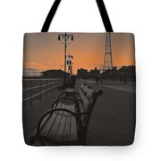 Coney Island Evening Tote Bag