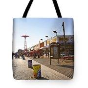 Coney Island Memories 8 Tote Bag
