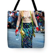 Coney Island Mermaid Tote Bag