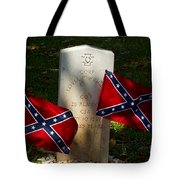Confederate Grave   #2831 Tote Bag