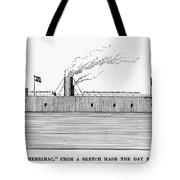 Confederate Ironclad, 1862 Tote Bag
