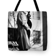 Confess The Round Tote Bag