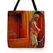 Confessional Halo Tote Bag