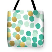 Confetti 2- Abstract Art Tote Bag by Linda Woods