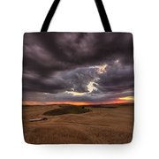 Confliction Tote Bag