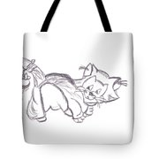 Confused Figarro Tote Bag