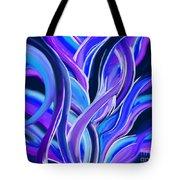 confusion Blue Tote Bag