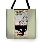 Congress Avenue Bridge Bats Tote Bag