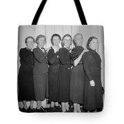 Congresswomen, 1938 Tote Bag
