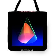 Conic Sections Parabola Poster 6 Tote Bag