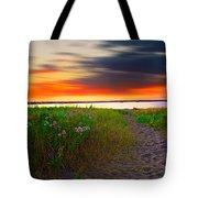 Conimicut Point Beach Rhode Island Tote Bag