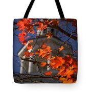 Connecticut Fall Colors Tote Bag by Jeff Folger