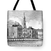 Connecticut Middletown Tote Bag