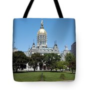 Connecticut State Capitol Hartford Tote Bag