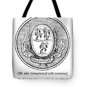 Connecticut State Seal Tote Bag