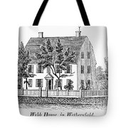 Connecticut Webb House Tote Bag