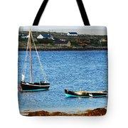 Connemara Boats Tote Bag