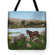 Connemara Ponies Tote Bag