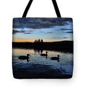 Conneticut Lake Tote Bag