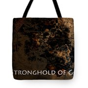 Connor - Stronghold Of God Tote Bag