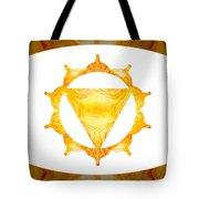 Conscious Spirituality Abstract Chakra Art By Omaste Witkowski Tote Bag