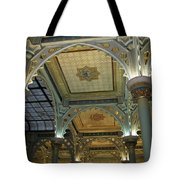 Conservatory Illuminated Ceiling Tote Bag
