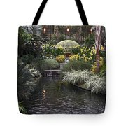 Conservatory In Autumn Tote Bag