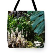 Conservatory Leaves Tote Bag