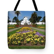 Conservatory Of Flowers Tote Bag