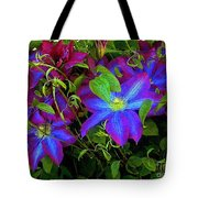 Constance's Clematis Tote Bag