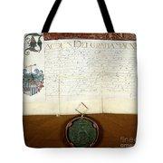 Constantijn Huygens Knighthood 1622 Tote Bag