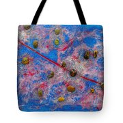 Constellation Of Aries Tote Bag by Augusta Stylianou
