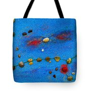 Constellation Of Pisces Tote Bag