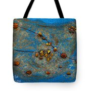 Constellation Of Taurus Tote Bag by Augusta Stylianou