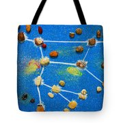 Constellation Of Ursa Major Tote Bag by Augusta Stylianou
